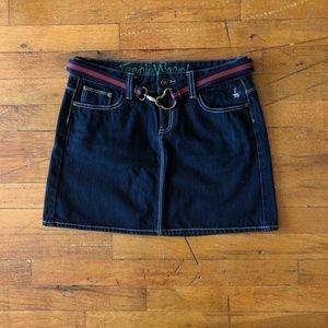 Teenie Weenie Denim Mini Skirt